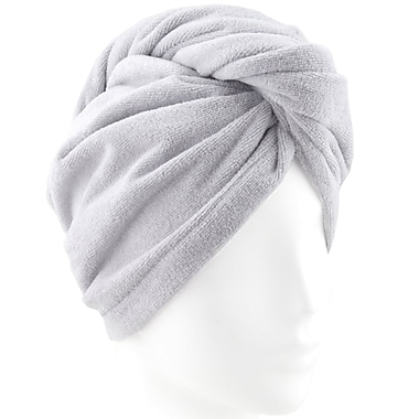 Hotel Spa Turbo Twist Microfibre Hair Towel, 2/Pack