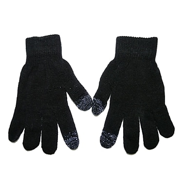 iTouch Touchscreen Gloves, One Size Fits All, Grey Tip Design