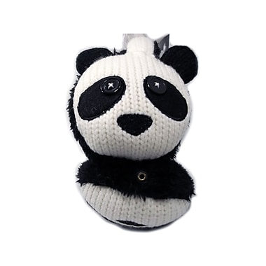 Music Muffs Panda Design Music Earmuffs with Built-in Headphones, Black
