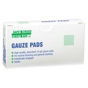 Safecross – Compresses de gaze, 2 x 2 (po), stérile, 432/paquet (3763)