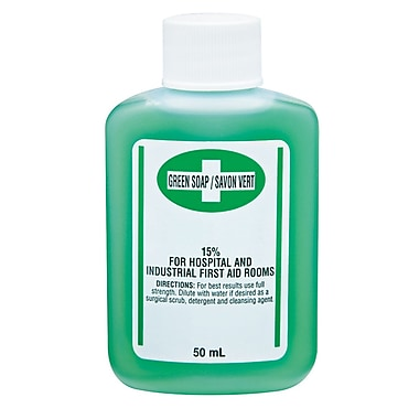 Safecross Green Soap Antiseptic Cleanser 50 Ml, 24/Pack (6127)