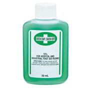 Safecross Green Soap Antiseptic Cleanser 50 Ml, 24/Pack (6127)