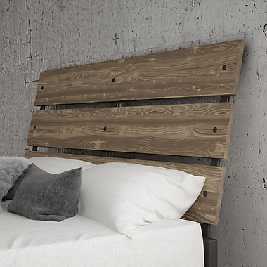 Amisco Riverton Full Size Wood and Metal Headboard, 54