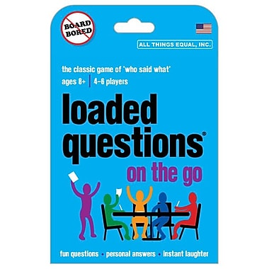All Things Equal Loaded Questions On The Go Game
