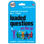 All Things Equal – Jeu de société Loaded Questions On the Go, anglais