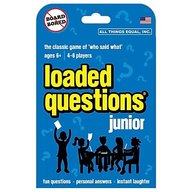 All Things Equal – Jeu de société Loaded Questions Junior, anglais