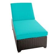 TK Classics Classic Chaise Lounge w/ Cushions; Navy