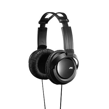 JVC – Casque d'écoute supra aural pleine grandeur HA-RX330, noir