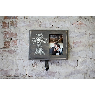 Clairmont&Company Lily Love Cross Message Picture Frame