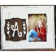 Clairmont&Company Lily Initial Picture Frame; A