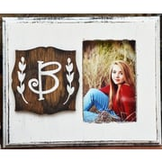 Clairmont&Company Lily Initial Picture Frame; B