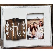 Clairmont&Company Lily Initial Picture Frame; H