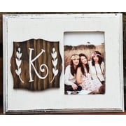 Clairmont&Company Lily Initial Picture Frame; K