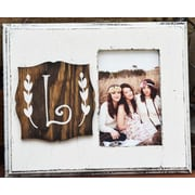 Clairmont&Company Lily Initial Picture Frame; L