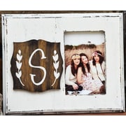 Clairmont&Company Lily Initial Picture Frame; S