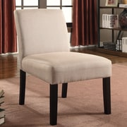 Container Fabric Side Chair (Set of 2); Beige