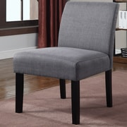 Container Fabric Side Chair (Set of 2); Gray