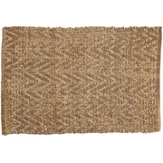 Tradewinds Imports Scatter Hand-Woven Natural Area Rug; 3' x 5'
