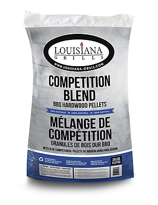 LouisianaGrills All Natural Hardwood Pellets - Competition Blend