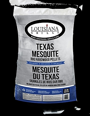 LouisianaGrills All Natural Hardwood Pellets - Texas Mesquite