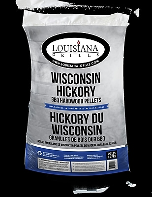 LouisianaGrills All Natural Hardwood Pellets - Wisconsin Hickory