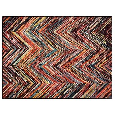 Ottomanson Rainbow Area Rug; 3'3'' x 4'11''