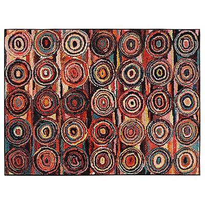 Ottomanson Rainbow Area Rug; 5' x 6'6''