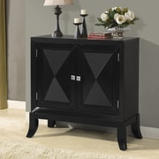 Wildon Home   Classy 2 Door Wooden Cabinet