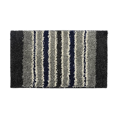 AttractionDesignHome Black/Gray Area Rug; 2' x 3'