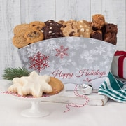 Mrs. Fields® Holiday Cookie and Brownie Crate Edible Gifts  62 Assorted 12