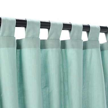 Pawleys Island Outdoor Single Curtain Panel; 50'' W x 108'' L