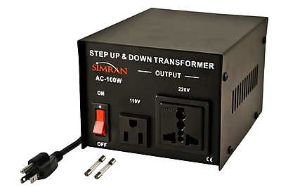 Simran Step Up/Down Voltage 100W Electronic Transformer WYF078279300316