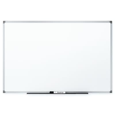 Quartet® Basic Whiteboard, Silver Aluminum Frame, 3'W x 2'H (85341)