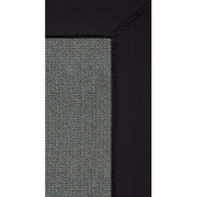 Linon Rugs Athena Hand-Tufted Charcoal/ Black Are Rug; 1'10'' x 2'10''