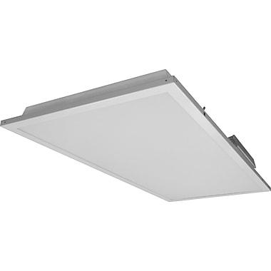 NICOR Lighting 48'' EZ Install LED Troffer; 5000K
