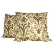 RLF Home Tracery Throw Pillow (Set of 2); Jade
