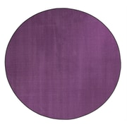 Flagship Carpets Americolors Pretty Purple Area Rug; Round 12'