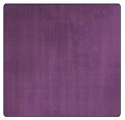 Flagship Carpets Americolors Pretty Purple Area Rug; Square 12'