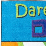 Flagship Carpets Dare to Dream Kids Rug; 4' x 6'