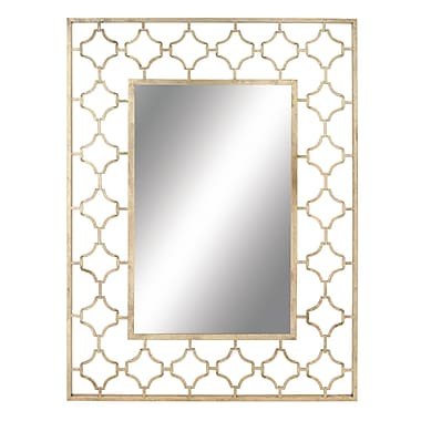 Cole & Grey Metal Wall Mirror