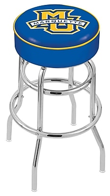 Holland Bar Stool NCAA 25'' Swivel Bar Stool; Marquette Golden Eagles WYF078279504028