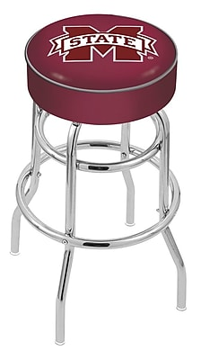 Holland Bar Stool NCAA 25'' Swivel Bar Stool; Mississippi State Bulldogs WYF078279503884