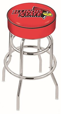 Holland Bar Stool NCAA 25'' Swivel Bar Stool; Illinois State Redbirds WYF078279504044