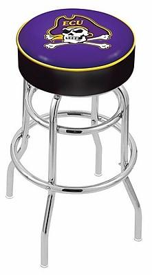 Holland Bar Stool NCAA 25'' Swivel Bar Stool; East Carolina Pirates WYF078279504052