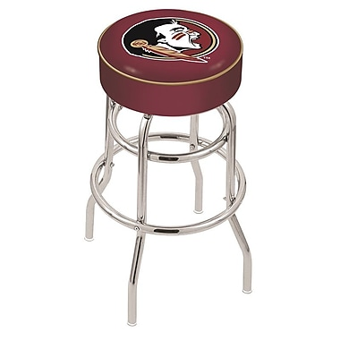 Holland Bar Stool NCAA 25'' Swivel Bar Stool; Florida State Seminoles- Head
