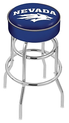 Holland Bar Stool NCAA 25'' Swivel Bar Stool; Nevada Wolf Pack WYF078279504064