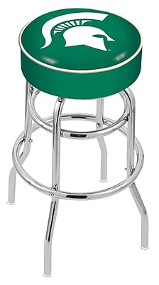 Holland Bar Stool NCAA 25'' Swivel Bar Stool; Michigan State Spartans WYF078279504069