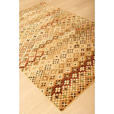 Abacasa Sonoma Beige/Brown Area Rug; 7'10'' x 11'2''