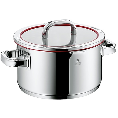 WMF Function Four Stock Pot w/ Lid in 6 quart