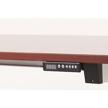 ApexDesk Vortex Series 6-Button Electric Height Adjustable Standing Desk; New Cherry